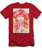 George Harrison With Hat Men's T-Shirt (Athletic Fit)