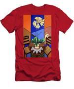 Gods Yellow Orchids Men's T-Shirt (Athletic Fit)