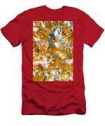 Golden Steel Swirl Men's T-Shirt (Athletic Fit)