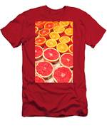 Grapefruit And Oranges Men's T-Shirt (Athletic Fit)