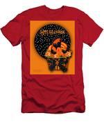 Halloween Black Cat Cupcake 2 Men's T-Shirt (Athletic Fit)