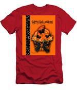 Halloween Black Cat Cupcake 3 Men's T-Shirt (Athletic Fit)