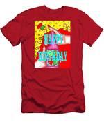 Happy Birthday 1 Men's T-Shirt (Athletic Fit)