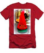 Happy Holidays Greeting Men's T-Shirt (Athletic Fit)