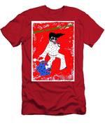 Happy Hunka Holiday Yall Men's T-Shirt (Athletic Fit)