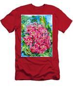 Hawthorn Blossom Men's T-Shirt (Athletic Fit)