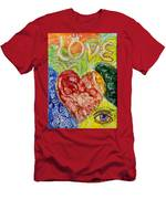 Heart To Heart G Men's T-Shirt (Athletic Fit)