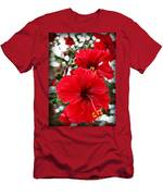 Hibiscus Perspective Men's T-Shirt (Athletic Fit)
