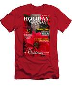 Holiday Home Magazine Cover Men's T-Shirt (Athletic Fit)