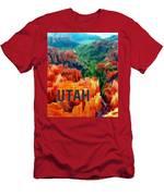 Hoodoos In Bryce Canyon Utah Men's T-Shirt (Athletic Fit)
