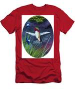 Hummingbird Two Men's T-Shirt (Athletic Fit)