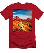 Impressionist Road Men's T-Shirt (Athletic Fit)
