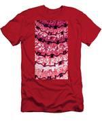 Incan Pattern Men's T-Shirt (Athletic Fit)