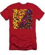 Interracial Colours Men's T-Shirt (Athletic Fit)