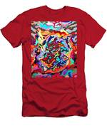 Intertwined Rainbow Men's T-Shirt (Athletic Fit)