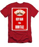 Keep Calm I M A Know It All Men's T-Shirt (Athletic Fit)