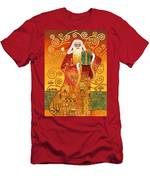 Klimt Santa Men's T-Shirt (Athletic Fit)