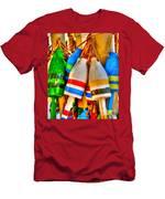 Knotty Buoys Men's T-Shirt (Athletic Fit)