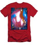 Lady In Red 3 Men's T-Shirt (Athletic Fit)