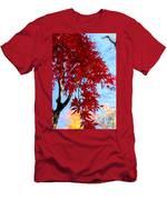 Leaves0591 Men's T-Shirt (Athletic Fit)