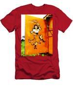 Let's Dance Men's T-Shirt (Athletic Fit)