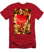 Love And Hate Men's T-Shirt (Athletic Fit)
