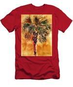 Manasota Key Palm 1 Men's T-Shirt (Athletic Fit)