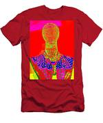 Modern Mesh Mosaic Men's T-Shirt (Athletic Fit)