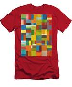 Multiple Exposures Lv Men's T-Shirt (Athletic Fit)