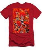 Mummer Red Men's T-Shirt (Athletic Fit)