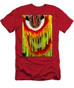 Native American Yellow Feathers Ceremonial Piece Men's T-Shirt (Athletic Fit)