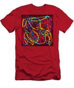 Neon Vegas Jungle Men's T-Shirt (Athletic Fit)