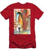 Old And Lonely In Italy 04 Men's T-Shirt (Athletic Fit)