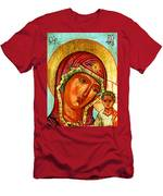 Our Lady Of Kazan Men's T-Shirt (Athletic Fit)