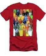 Paint Pigment Men's T-Shirt (Athletic Fit)