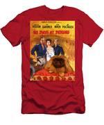 Pekingese Art - 55 Days In Peking Movie Poster Men's T-Shirt (Athletic Fit)