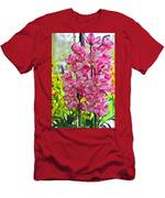 Pink Shadows Men's T-Shirt (Athletic Fit)