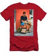 Poet For Hire - Paint Men's T-Shirt (Athletic Fit)