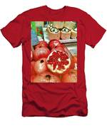 Pomegranates In Open Market Men's T-Shirt (Athletic Fit)