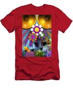 Pop Art Flower Men's T-Shirt (Athletic Fit)