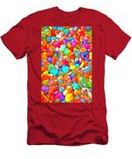 Pop Rocks Abstract Men's T-Shirt (Athletic Fit)