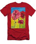 Poppy Family Men's T-Shirt (Athletic Fit)