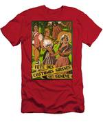 Poster Advertising F?te Des Costumes Men's T-Shirt (Athletic Fit)