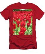 Radiant Red Men's T-Shirt (Athletic Fit)