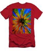 Rainbow Exuberance Men's T-Shirt (Athletic Fit)