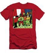 Santa's Workshop Men's T-Shirt (Athletic Fit)
