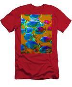 School Of Piranha V1 Men's T-Shirt (Athletic Fit)