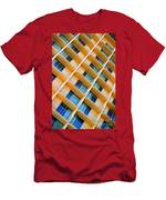 Scratchy Hotel Facade Men's T-Shirt (Athletic Fit)