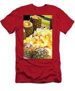 Sliced Pineapple Men's T-Shirt (Athletic Fit)