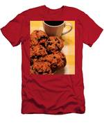 Snack Time - Muffins And Coffee Men's T-Shirt (Athletic Fit)